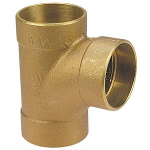 Drainage Waste and Vent Wrot Copper Sanitary Tee CCDWVS