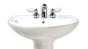 American Standard Cadet® Vitreous China Pedestal Lavatory Sink A0236008