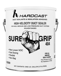 Hardcast Sure-Grip™ 404 Sure Grip Duct Sealant HAR302009