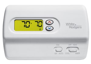 White Rodgers Non Programmable H Power Digital Thermostat W1F89211