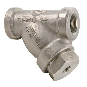 Mueller Steam Specialty 600# Stainless Steel Thread Perforated Wye Strainer M581SS