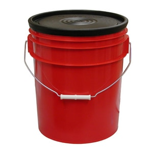 Jones Stephens 5 gal. Bucket with 1-Large 4-Small Tray JT60102