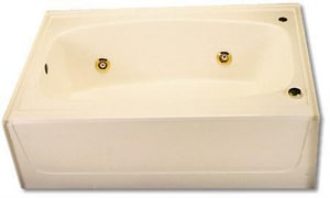 Spurlin Industries 60 x 36 in. Bathtub with Right-Hand Drain in White SF6036GTRWH
