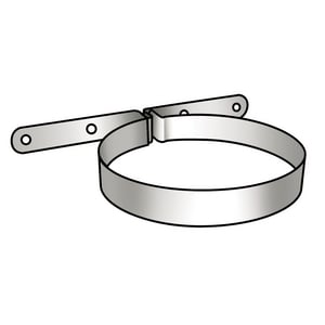 Rinnai Vent Pipe Clamp R169044