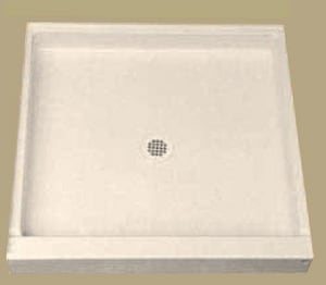 Florestone The Edge 42 x 34 in. Molded Shower Base F42341