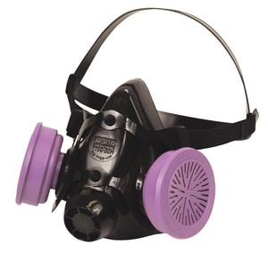 North Safety Products Large Dual Cartridge Halfmask Respirator for North Safety 7700 H770030L