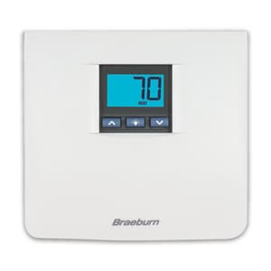 Braeburn Systems 1 Heat 1 Cool Non Programmable Digital Thermostat BRA3000