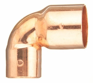 Wrot Copper Medium Turn 90 Degree Elbow CMT9