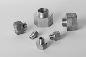 Wardflex 3/8 in. MNPT x Mechanical Joint Fitting WF211