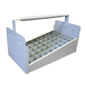 Jones Stephens 1 in. 50-Piece Steel Cap Nipple Tote Tray JN70016