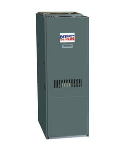 Heat Controller OUF Series 19-1/2 in. 81% AFUE 4 Ton Variable-Stage Highboy 1/2 hp Oil Furnace HOUFAD4