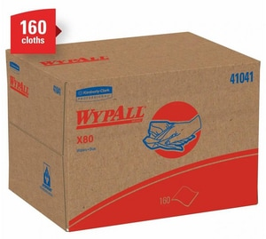 Kimberly Clark WypAll® 80 Shoppro Brag Box K4104110