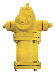 5-1/4 in. WB67 Open Hydrant Less Accessories Yellow WWB67LAOLLLYEL