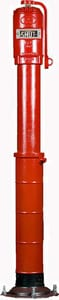 American Flow Control Ductile Iron Gate Valve with Vertical Indicator Post for 3.5 - 6 in. Trench AFCIP712A