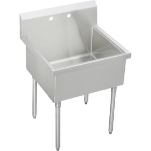 Elkay Weldbilt® Scullery Sink in Satin EWNSF81362