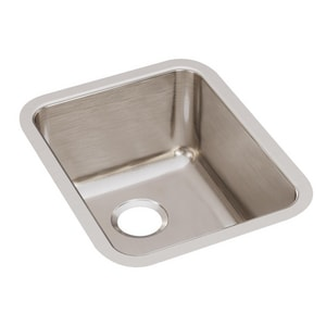 Elkay Gourmet® No-Hole 1-Bowl Sink with Sound Guard EELUH141810