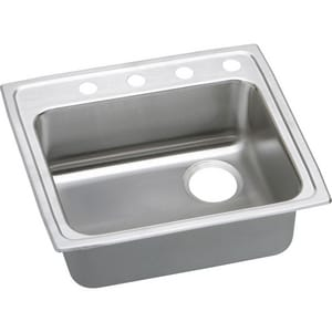 Elkay Lustertone® Single Bowl Kitchen Sink ELRAD252160R