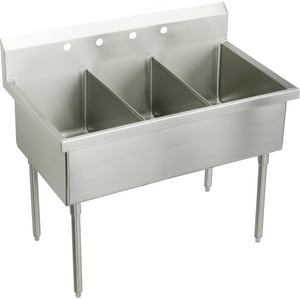 Elkay Weldbilt® Scullery Sink in Satin EWNSF83544