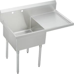 Elkay Weldbilt® Scullery Sink with Right Drainboard EWNSF8124R2