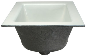 Zurn Cast Iron Pull-Out Floor Sink ZFD2375PO
