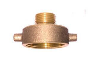 Legend Valve & Fitting 2-1/2 x 3/4 in. FNST x Male GHT Fire Hydrant Adapter L322731