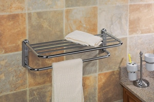 Gatco Spa Towel Bar Rack Polished Chrome G1537