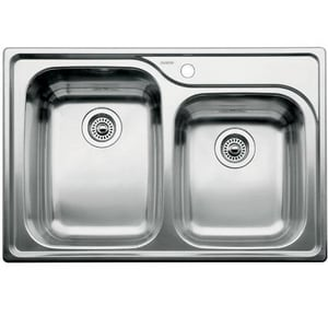 Blanco America Supreme™ 1-3/4 Bowl Drop-In Sink B440238