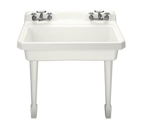 Kohler Harborview™ Single Bowl Faucet Wall Mount Laundry Sink K6607-4