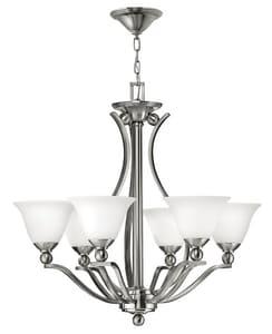 Hinkley Lighting 60 W 6-Light Medium Chandelier H4656