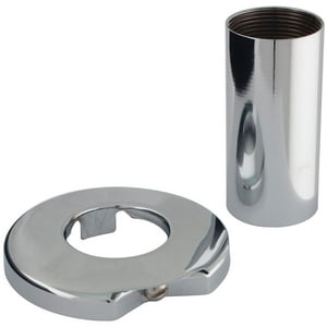 Lincoln Products® 960-151A Flange and Sleeve Polished Chrome LIN132208