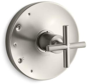 Kohler Purist® Pressure Balancing Valve Trim with Single Cross Handle KT14423-3