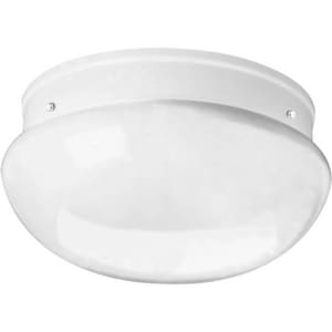 Progress Lighting 11-3/4 in. 2-Light Close-to-Ceiling Fixture PP3412