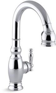 Kohler Vinnata® 1-Hole Kitchen Faucet with Single Lever Handle K691