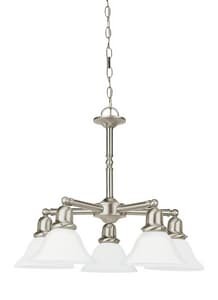 Seagull Lighting Sussex 100 W 5-Light Medium Chandelier S31061