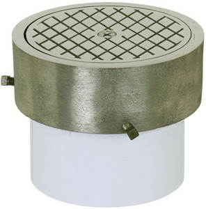 Sioux Chief 6 in. Cast Nickel Medium Duty Cover S85146N