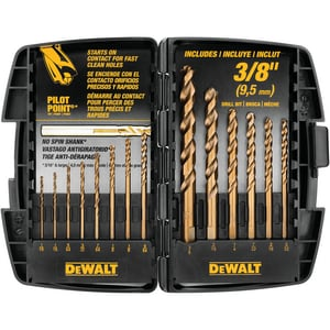 Dewalt Pilot Point® Cobalt Bit Set DDW1263