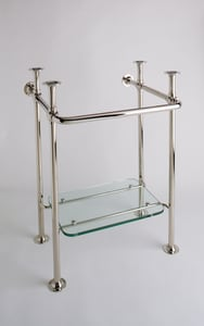 Rohl Perrin & Rowe Washer Stand in Polished Chrome RRW2231APC