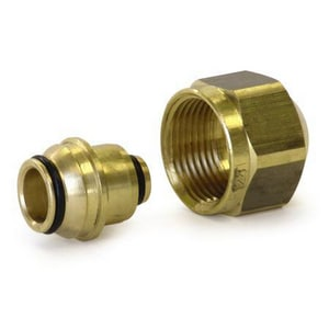 Uponor North America Multicor Fitting Assembly R20 Thread UD4120500