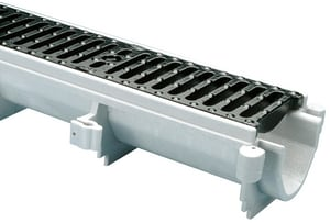 Zurn Industries Cast Iron Standard Channel No Frame Grate ZZ886CG