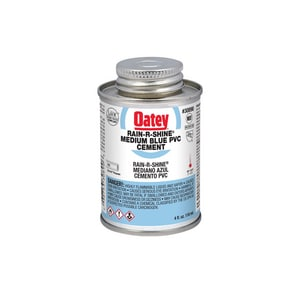 Oatey 4 oz. PVC Cement in Blue O30890