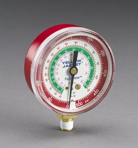 Ritchie Engineering High Side Gauge in Red R49001
