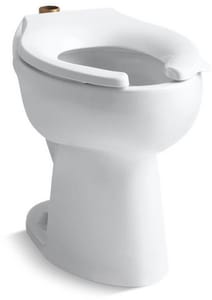 Kohler Highcliff™ Elongated Floor Mount Toilet Bowl K4368