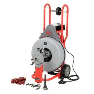 Ridgid 26 in. Standard Equipment Drum Machine with Cable R42007 at Pollardwater