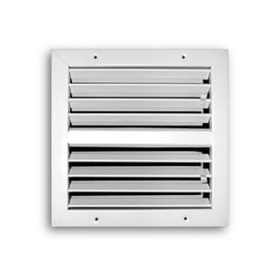 T.A. Industries 12 x 12 in. Louvered Flush Diffuser T700M12X12
