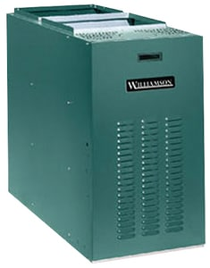 Williamson Thermoflo CLB Series 21-1/4 in. 119000 BTU 85% AFUE 3.5 Tons 2-Stage Lowboy 1/2 hp Oil Furnace WCLB105DDRB