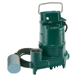 Zoeller 115V High Head Effluent Pump With Variable Level Float Switch Z150005