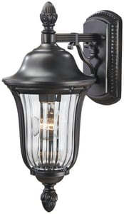 Minka Heritage 9-1/4 in. 100 W 1-Light Medium Lantern in Heritage M884794