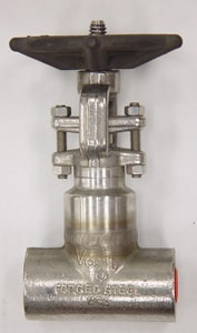 Vogt Valves 800# Carbon Steel Threaded Outside Stem and Yoke Gate Valve V2801
