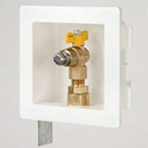 Gastite Recessed Gas Outlet Box with XR Fittings TXROUTLETBOX8