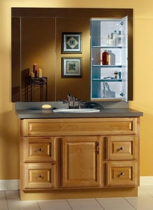 Jensen Illusion Series 13 in. Medicine Cabinet Mirror Door R664